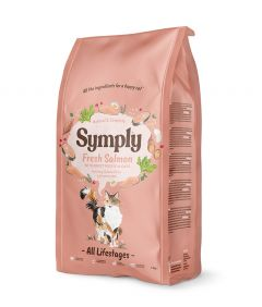 Symply Cat Dry Food with Salmon - All Life Stages