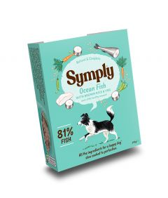 Symply Adult Ocean Fish, Brown Rice & Veg Wet Dog Food