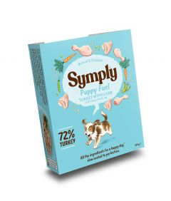 Symply Puppy Turkey, Brown Rice & Veg Wet Dog Food