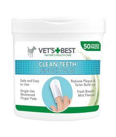 Vet's Best Clean Teeth Finger Pads for Dog
