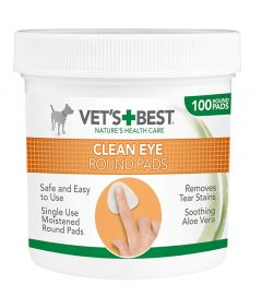 Vet's Best Clean Eye Round Pads (100 pads)