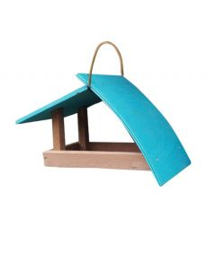 Wood-Zoo House Wave Large Blue
