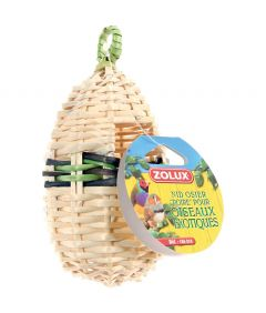 Zolux Wicker Pear Nest