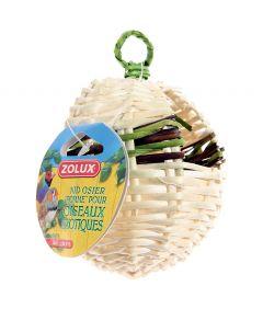 Zolux Wicker Apple Nest