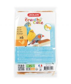 Zolux Crunchy Cake Apple and Banana Bird Biscuit