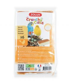 Zolux Crunchy Cake Growth Bird Biscuit