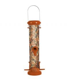 Zolux Hopper Plastic Bird Feeder 4 Perch