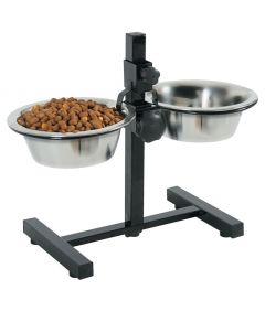 Zolux Adjustable Stand Stainless Steel Bowl 0.7L