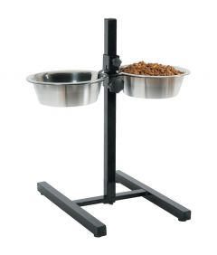 Zolux Adjustable Stand Stainless Steel Bowl 1.5L
