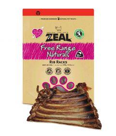 Zeal Free Range Naturals Rib Racks Dog Treats
