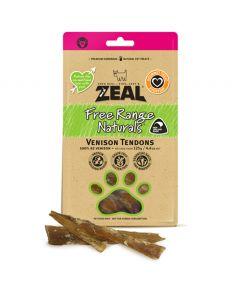 Zeal Free Range Naturals Venison Tendons Dog Treat