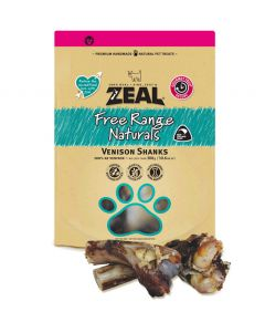 Zeal Free Range Naturals Venison Shanks (2pcs)