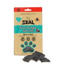 Zeal Free Range Naturals Veal Liver Dog Treats