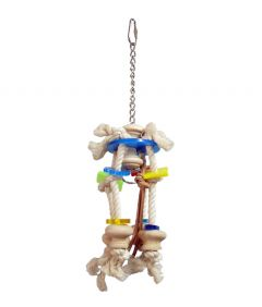 Zoo-Max Clip-Clop Parrot Bird Toy