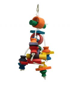 Zoo-Max Cinnamon Roll Parrot Bird Toy