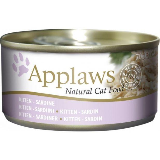 Applaws Kitten Sardine 70g Tin