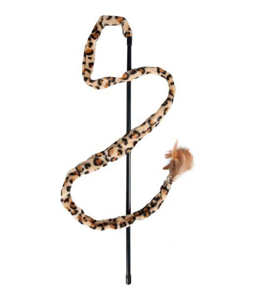 Flamingo Cat Wand Leopard Fishing Rod